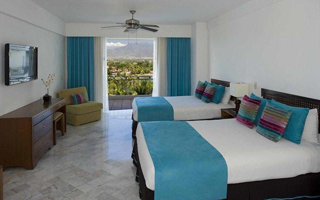 Vamar Vallarta All Inclusive Marina and Beach Resort, habitaciones con todas las amenidades