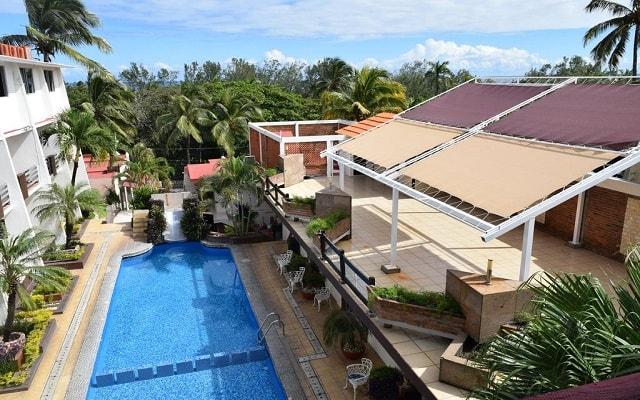 VF Villa Florencia Hotel, relájate en la terraza