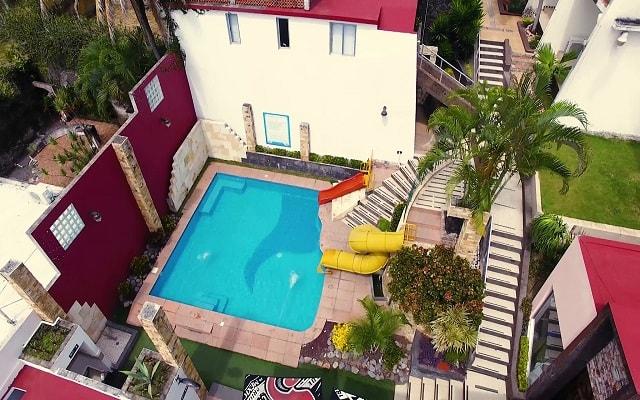 VF Villa Florencia Hotel, vista aérea