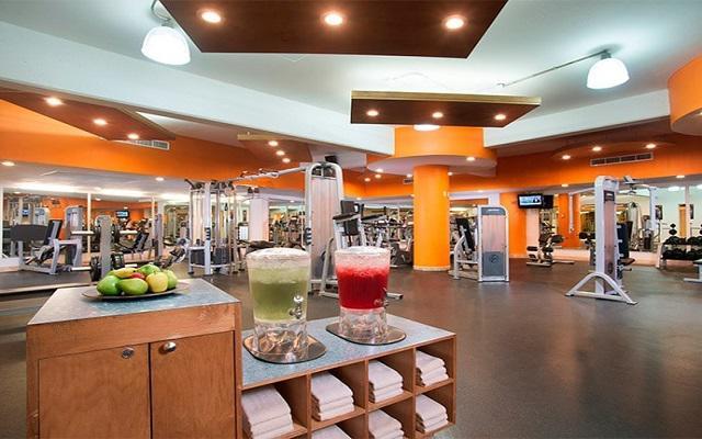 Villa del Palmar Flamingos Beach Resort and Spa, gimnasio de uso exclusivo