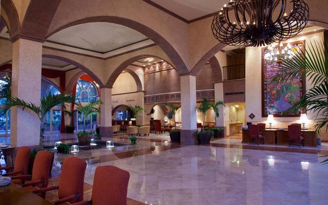 Villa del Palmar Flamingos Beach Resort and Spa, ingreso