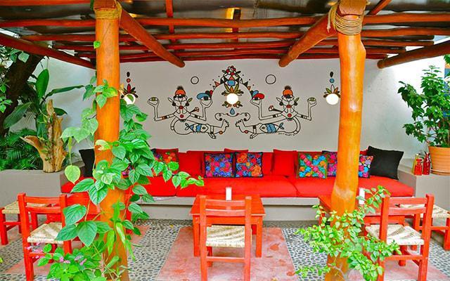 Villa Mercedes Petit Hotel Sólo Adultos, Patio terraza