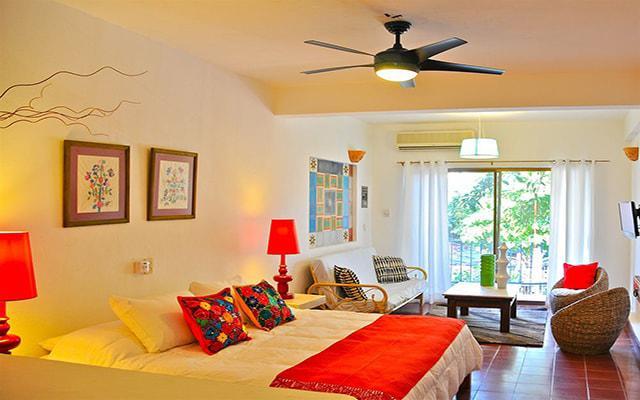 Villa Mercedes Petit Hotel Sólo Adultos, habitaciones con todas las amenidades