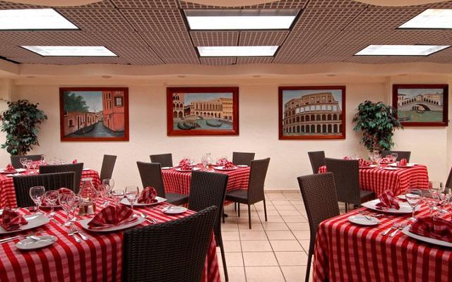 Restaurante con servicio de comida italiana