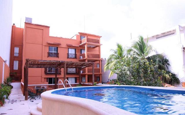Una alberca para disfrutar el agradable clima de Cozumel