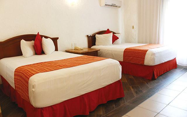 Hotel Vista Playa de Oro, amplias y luminosas habitaciones