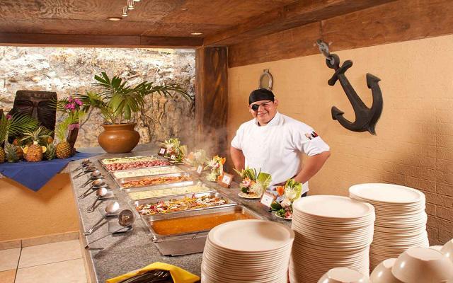 Hotel Vista Playa de Oro, gastronomía de calidad