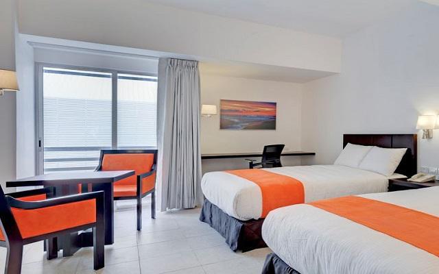 Hotel Yes Inn Nuevo Veracruz, habitaciones bien equipadas