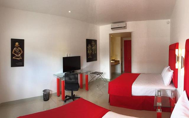 Hotel Zar Mérida, amplias y luminosas habitaciones