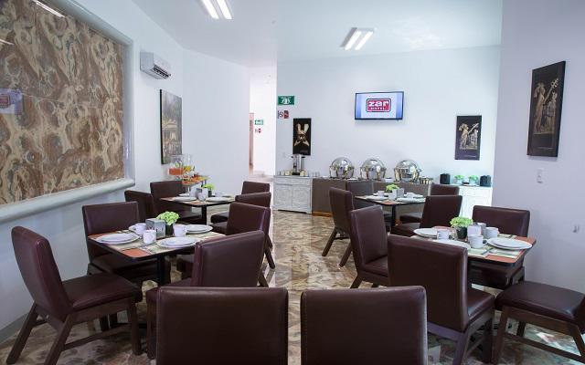 Hotel Zar Mérida, escenario ideal para disfrutar tus alimentos