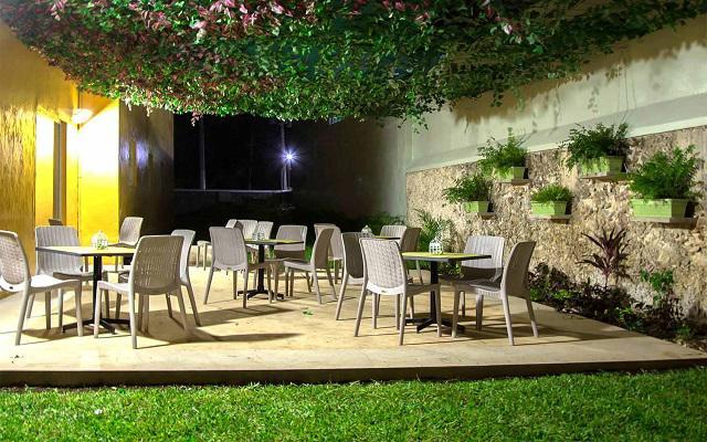 Hotel Zar Mérida, cuenta con una terraza al aire libre