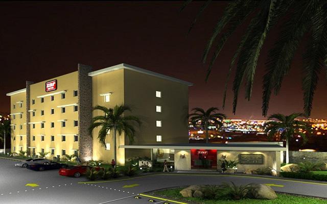 Hotel Zar Mérida, vista nocturna