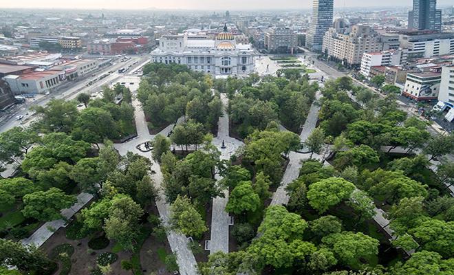Alameda Central Ciudad de México