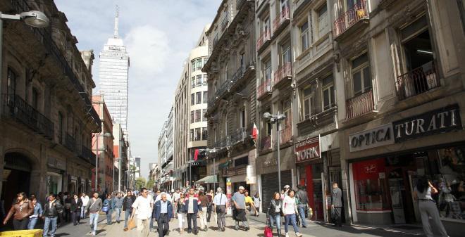 Calle Madero Centro Histórico