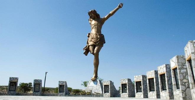 El Cristo Roto en Aguascalientes