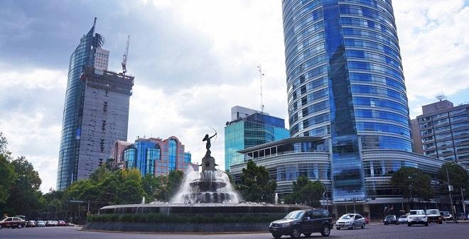 Fuente de la Diana Cazadora Ciudad de México
