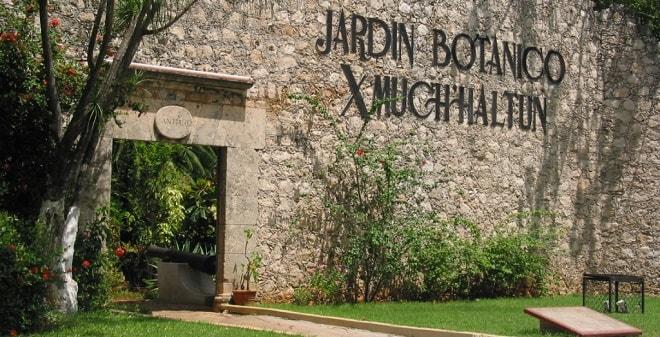 Jardín Botánico Xmuch Haltun Campeche