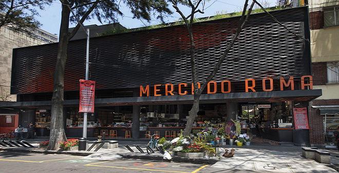Mercado Roma Ciudad de México