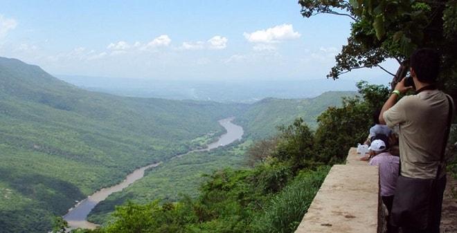 Miradores del Parque Nacional Cañón del Sumidero Chiapas