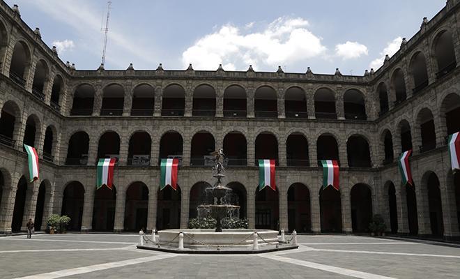 Palacio Nacional Ciudad de Mexico