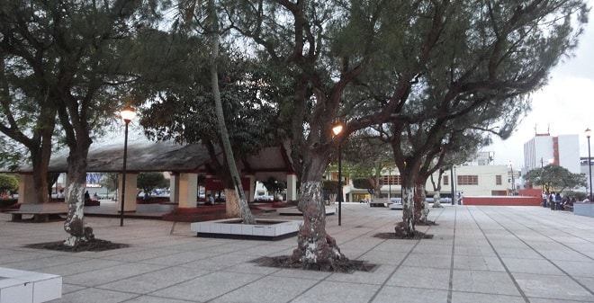 Parque Independencia Coatzacoalcos