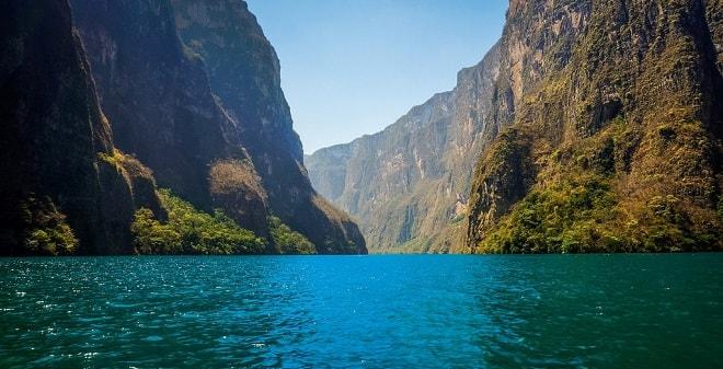 Parque Nacional Cañón del Sumidero Chiapas