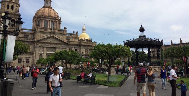 Plaza de Armas Guadalajara