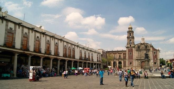 Plaza de Santo Domingo Ciudad de México