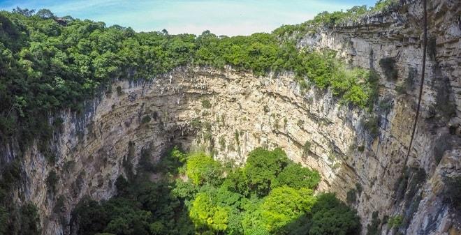 Sima de las Cotorras Chiapas