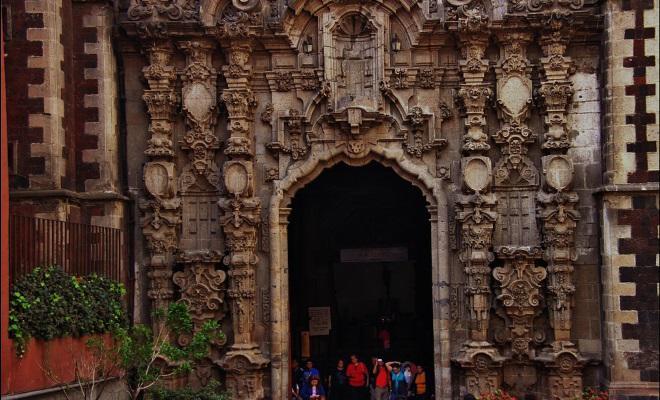 Templo de San Francisco Centro Histórico Ciudad de México
