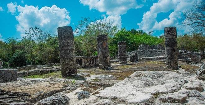 Zona Arqueológica de San Gervasio Cozumel