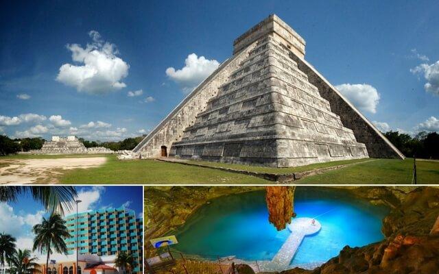 Tour a Chichén Itzá  + Hotel Calypso Cancún