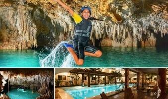 Tour Río Secreto + Hotel HM Playa del Carmen