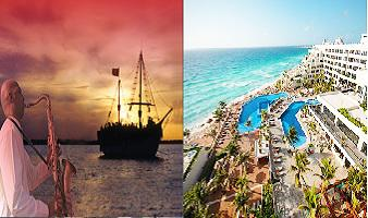 ¡Paquete a Cancún! Tour Columbus Lobster Dinner Night + Hotel Grand Oasis Sens