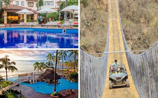 Tour Puente colgante Canopy River + Hotel Plaza Pelícanos Grand Beach Resort