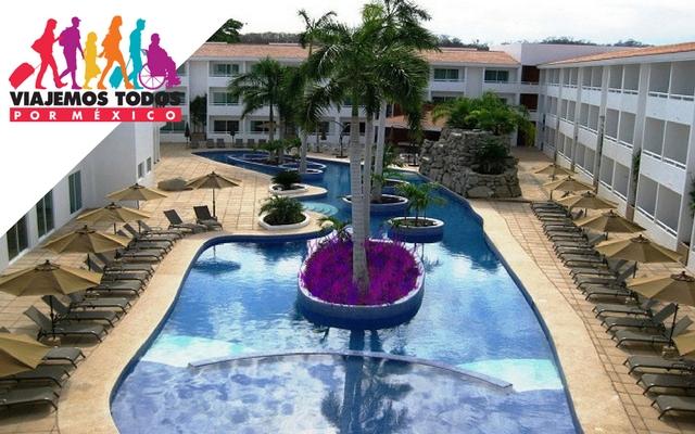 Hotel la isla huatulco beach club ofertas de hoteles for Paquete familiar en un hotel