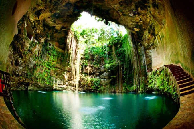 Cenote Ikil Tour a Chichén
