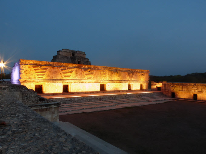 Una de las zonas arqueológicas ubicas en la Ruta Puuc de Yucatán