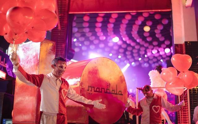 Antros En Cancún, Mandala Cancún uno de los antros más famosos