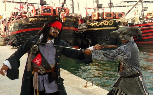 Barco Pirata Cancún Capitán Hook, un recuerdo inolvidable