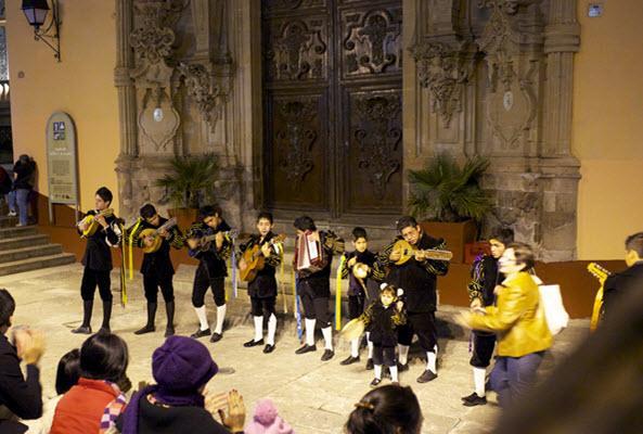 Callejoneada en Guanajuato en Guanajuato