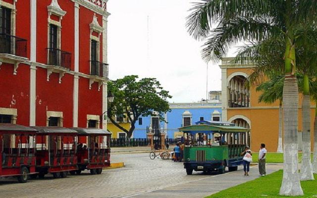 Campeche Centro Historico Tour, sus coloridas fachadas