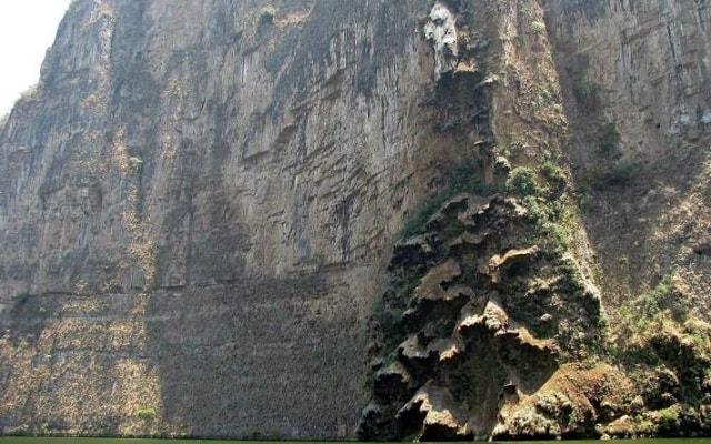 Cañón del Sumidero, en tu recorrido verás formaciones naturales