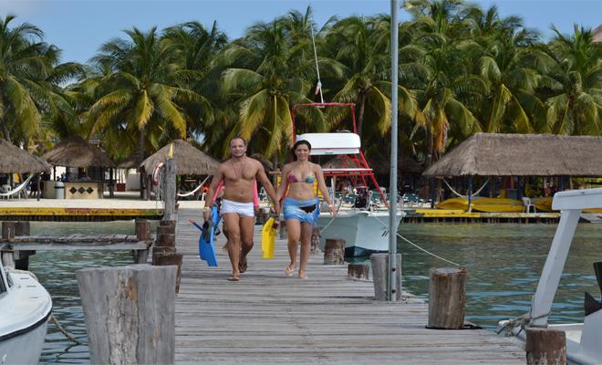 Practica snorkel en Caribbean Funday