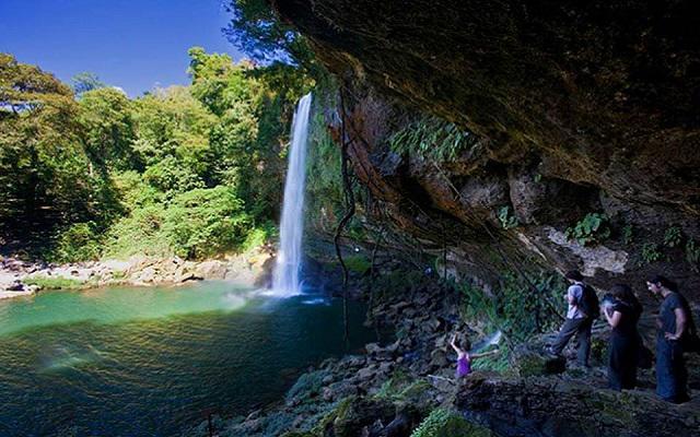 Cascadas de Agua Azul, Misol-Há y Palenque hermosos paisajes