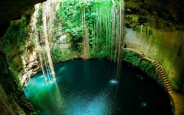 Chichen Itzá Mérida, te enamorarás del cenote Ik Kil