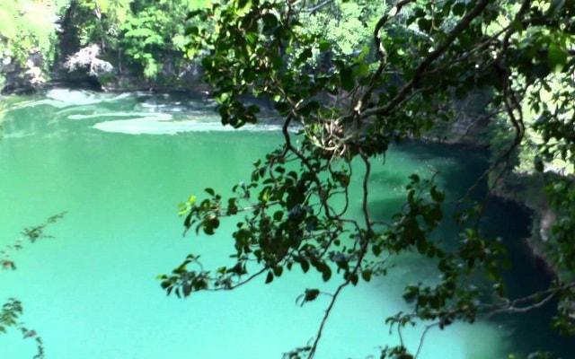 Cenote Miguel Colorado Champotón, te gustará el azul turquesa de sus aguas