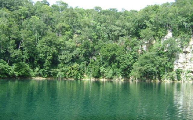 Cenote Miguel Colorado Champotón, Cenote de los Patos admira su belleza desde el mirador