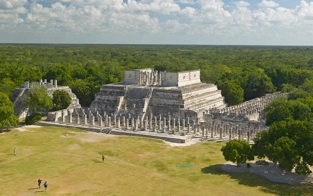 Chichen Itzá Mérida, Templo Guerreros