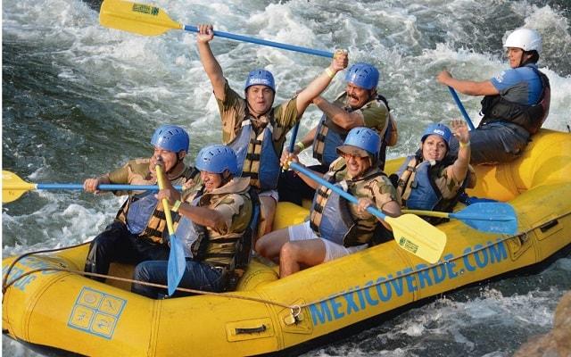Circuito de Aventura por Veracruz 3 días, Rápidos de Jalcomulco para quienes desean más adrenalina